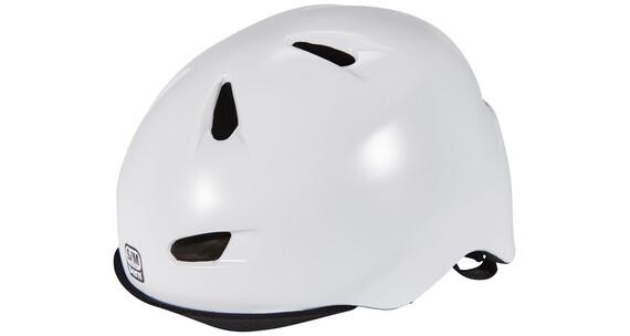 Bern Brentwood Helm inkl. Flip-Visier satin-weiß